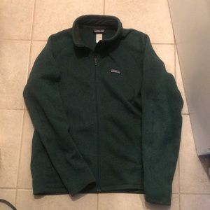 Green Patagonia Better Sweater Fleece
